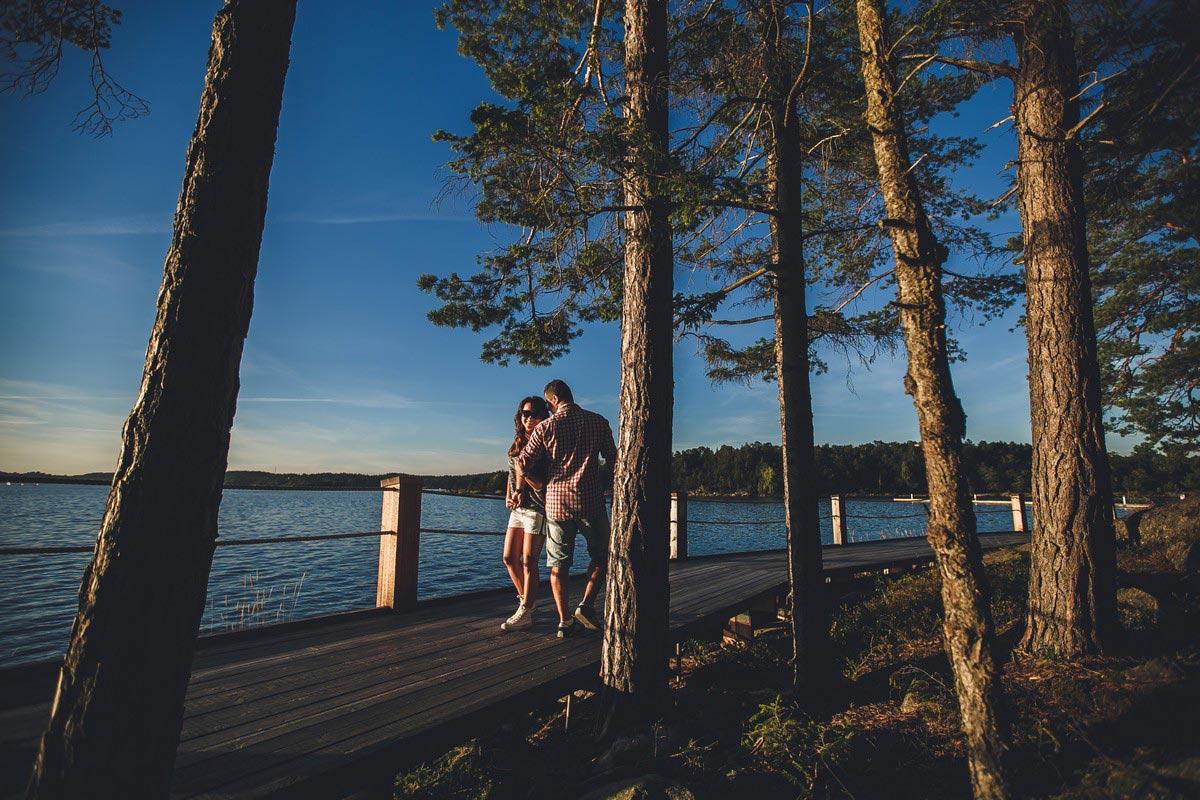 plener ślubny w szwecji